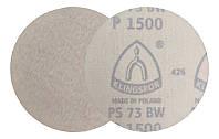 Круги шлифовальные Ø 125 мм. на липучке (фибровые) P1500 Klingspor