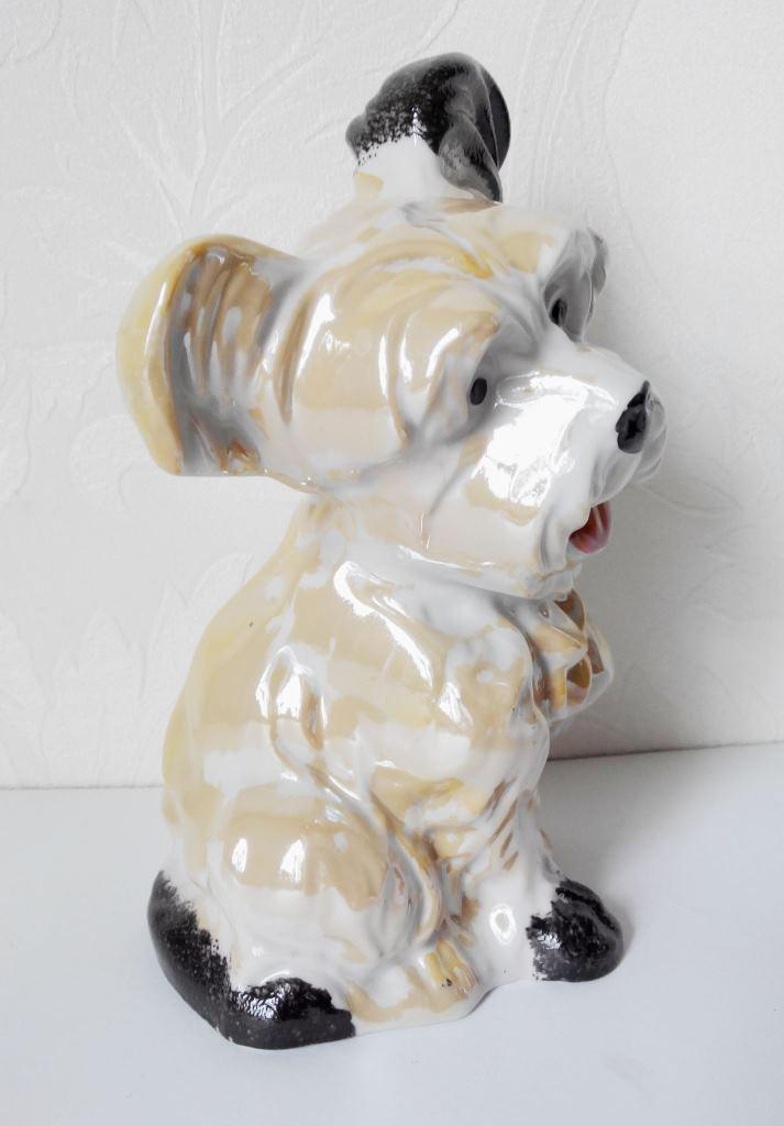 Собачка фарфоровая СБ-1