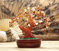 Деревце-оберег с камнем агат