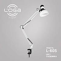 """Лампа настольная со струбциной """"Снежинка"""" L-605 (ТМ LOGA Light)"""