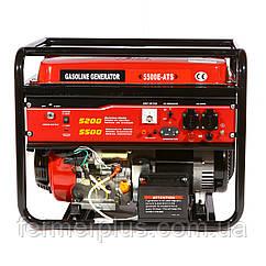 Генератор с автоматическим запуском бензиновый WEIMA WM5500 ATS (5,5 кВт, бензин) + доставка