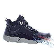 Мужские высокие ботинки Alpine Crown черные, фото 2