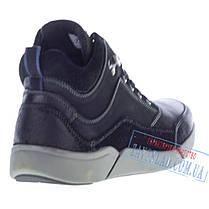 Мужские высокие ботинки Alpine Crown черные, фото 3