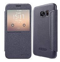 Чехол-книжка Nillkin Sparkle Series для Samsung G930F Galaxy S7 Black