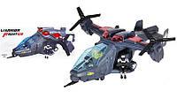 Вертолет на батарейках 286-12 музыкальный свет, звук, ездит