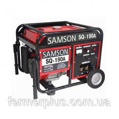 SAMSON SQ-190A (2 кВт, зварювальний струм 210А, бензин, ручний стартер) (Безкоштовна доставка)