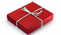 Подарочная коробка Red 28х23х5 см, фото 1