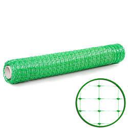 Сетка пластиковая универсальная (2мх100м)  30*35 зеленая