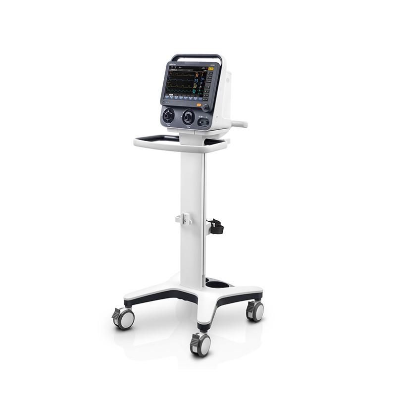 Апарат для штучної вентиляції легень SV300 укомпл.: мобільний візок (EV20), зволожувач (SH330/EU), тримач (рукав) для дихального контуру