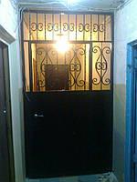 Тамбурные двери полуглухие