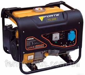 Генератор бензиновый Forte FG2000 (1,2 кВт, ручной стартер) Бесплатная доставка