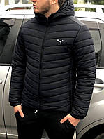 Зимова куртка Puma чорна
