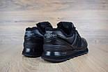 Зимние женские кроссовки New Balance 574 leather black. Живое фото (Реплика ААА+), фото 2