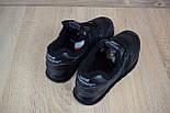 Зимние женские кроссовки New Balance 574 leather black. Живое фото (Реплика ААА+), фото 3