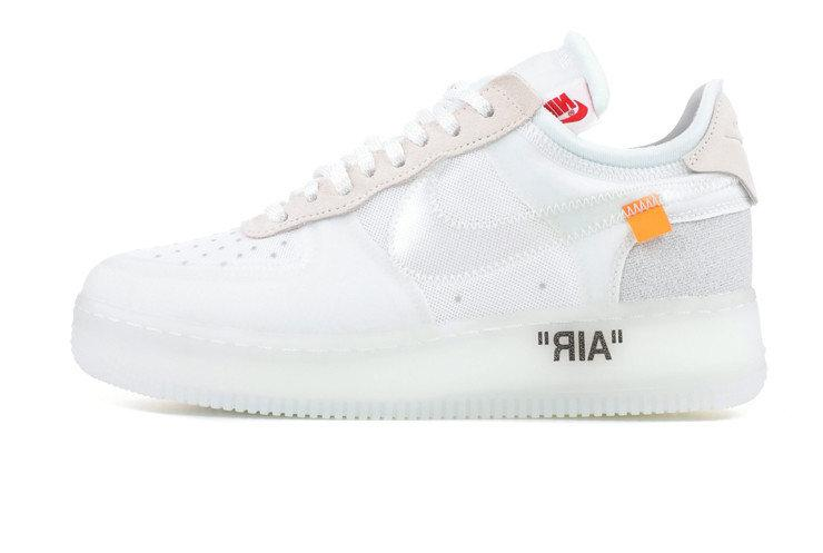 b9d57324 Мужские Кроссовки Off-White X Nike Air Force 1 Low - White — в ...