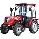 Трактор DW404AC   (40 л.с., 4 цилиндра, ГУР, колеса 7.5х16/11.2х24), фото 2