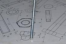 Шпилька М52 DIN 975