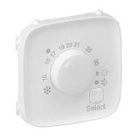 Лицевая панель - Valena Allure - для электронного термостата Кат. № 7 520 33 - белый