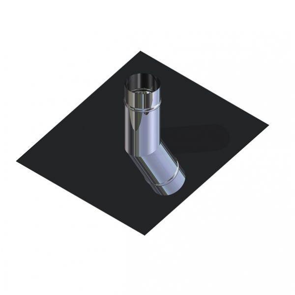 Крыза для дымохода нержавейка D-180 мм толщина 0,6 мм