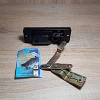 Ручка двери Газель задней левой (стопора задка) с металическим основанием (пр-во Регалия,Россия)