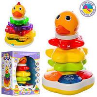 Розвиваюча іграшка пірамідка неваляшка музична Joy Toy 7015-7040 UA, фото 1