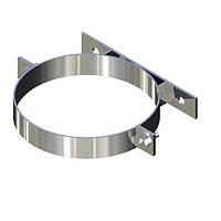 Хомут для дымохода нержавейка D-100 мм толщина 0,6 мм