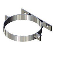Хомут для дымохода нержавейка D-140 мм толщина 0,6 мм