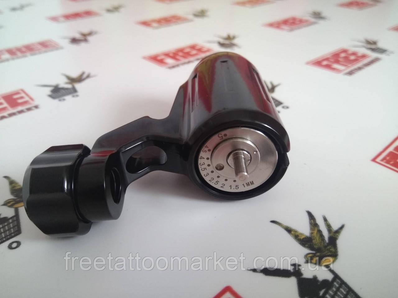 Тату машинка ротор поворотник (черный)