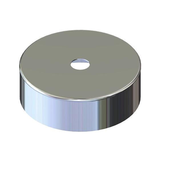 Дека для дымохода нержавейка D-120 мм толщина 0,6 мм
