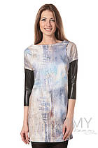Платье-туника для беременных и кормящих Yammy Mammy арт. 333.2.8 пастель