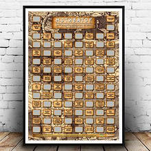 Скретч-плакат постер на стену Мотиватор