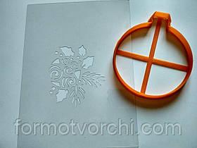 """3D формочки-вырубки для пряников """"Ёлочная игрушка 5"""""""