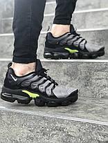 Мужские  кроссовки Nike Air Max TN серые топ реплика, фото 2