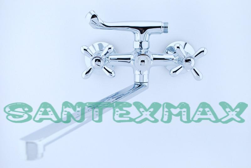 Смеситель латунный для ванны Mixxus Premium Dominox 140 Euro