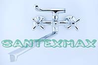 Змішувач латунний для ванни Mixxus Premium Dominox 140 Euro, фото 1