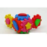 Логический куб-сортер, с геометрическими  фигурами 50-101