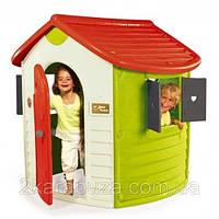 Будиночок лісника зі ставнями, розмір 128х117х130 см, 2+, фото 1
