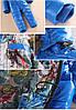 Супер-тёплый детский комбинезон с мехом, Синий, фото 3
