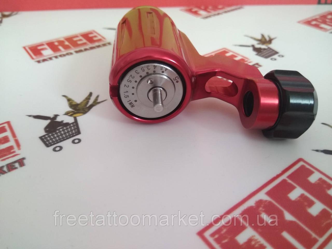 Тату машинка ротор поворотник (красный)