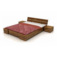 """Кровать деревянная двухспальная """"Классик №1"""" 180х200. Современная модерн из натурального дерева для отеля"""