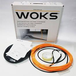 Теплый пол электрический Woks-17 двухжильный нагревательный кабель