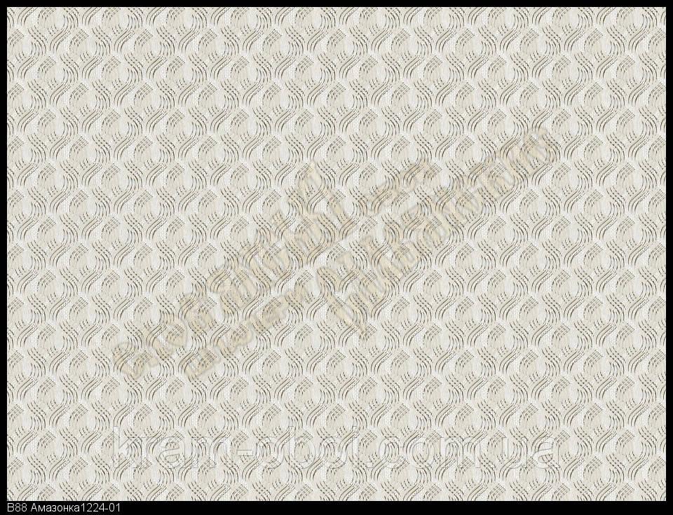 Шпалери Слов'янські Шпалери КФТБ вінілові на флізеліновій основі 10м*1,06 9В88 Амазонка 1224-01