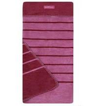 Одеяло - плед детское двухстороннее в полосочку Womar Zaffiro  75 x 100 cм 60*40