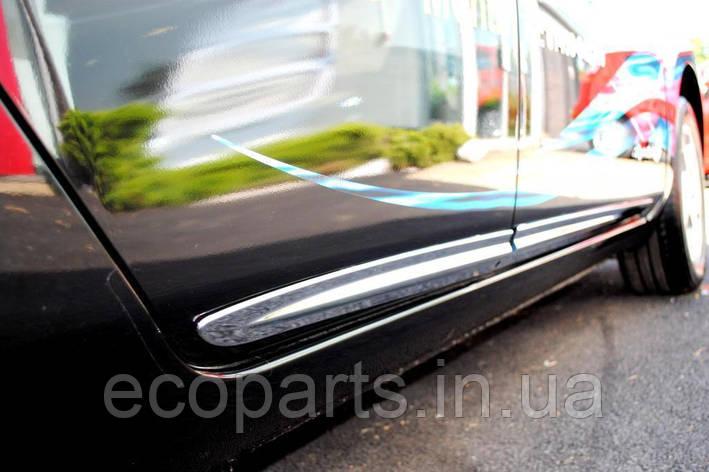 Хром молдинги дверей для Nissan Leaf (10-17), фото 2