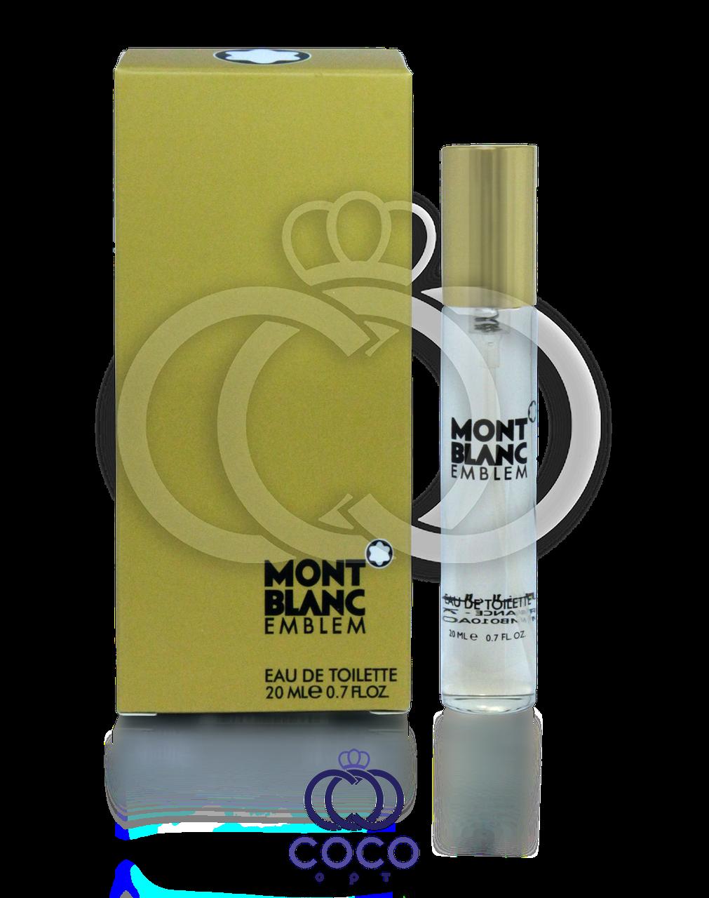 Туалетная вода (мини) Montblanc Emblem