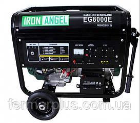 Генератор бензиновый IRON ANGEL  EG 8000E   (7,0 кВт, электростартер) Бесплатная доставка