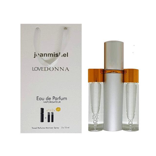 Женский Мини-парфюм Jeanmishel Love Trussardi Donna (3 по 15 мл ) № 102