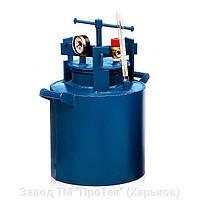 Автоклав бытовой HousePro-42 усиленный с краном (42 пол литровых банок или 18 литровых)