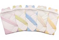 """Конверт с капюшоном  для новорожденных """" coral fleece """" Duetbaby  ( код 555/1  ) мех , фото 1"""