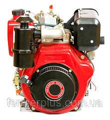 Двигатель дизельный Bulat BT186FВE (9,5 л.с., шлицы Ø25мм, L=33мм, электростарт)